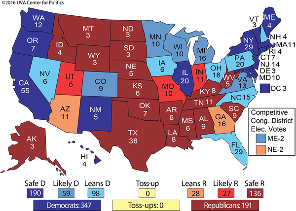 2016 Presidential Election Prediction